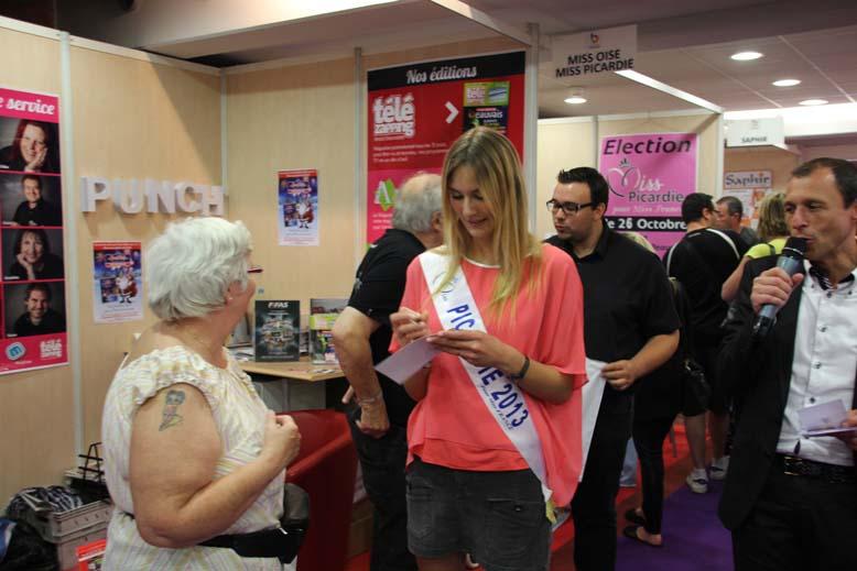 Foire de Beauvais 2014 - Miss Picardie3