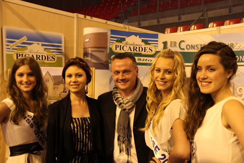 Foire de Beauvais visite de Miss Oise 2014 -11