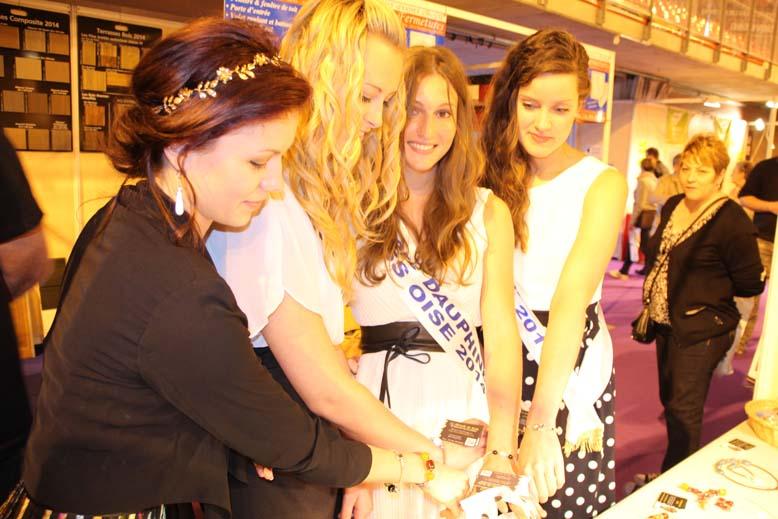 Foire de Beauvais visite de Miss Oise 2014 -19
