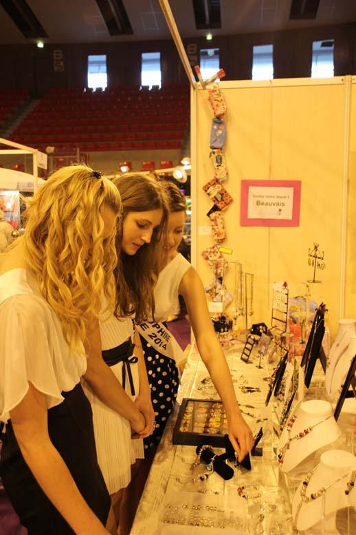 Foire de Beauvais visite de Miss Oise 2014 -21