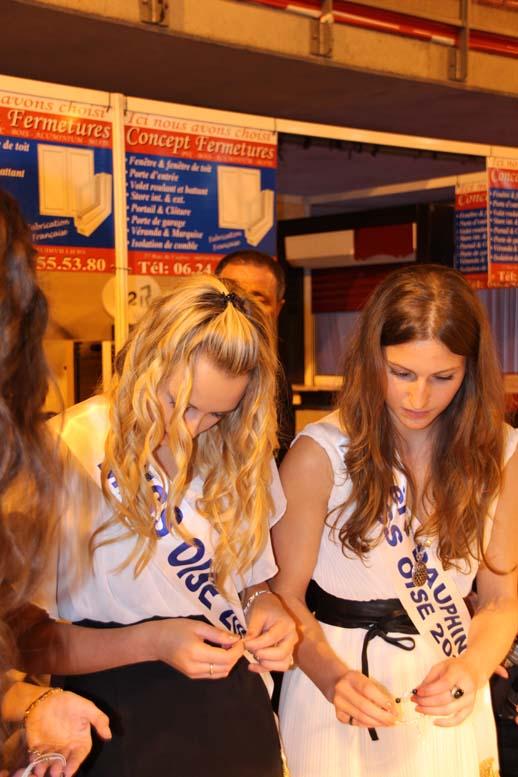 Foire de Beauvais visite de Miss Oise 2014 -23