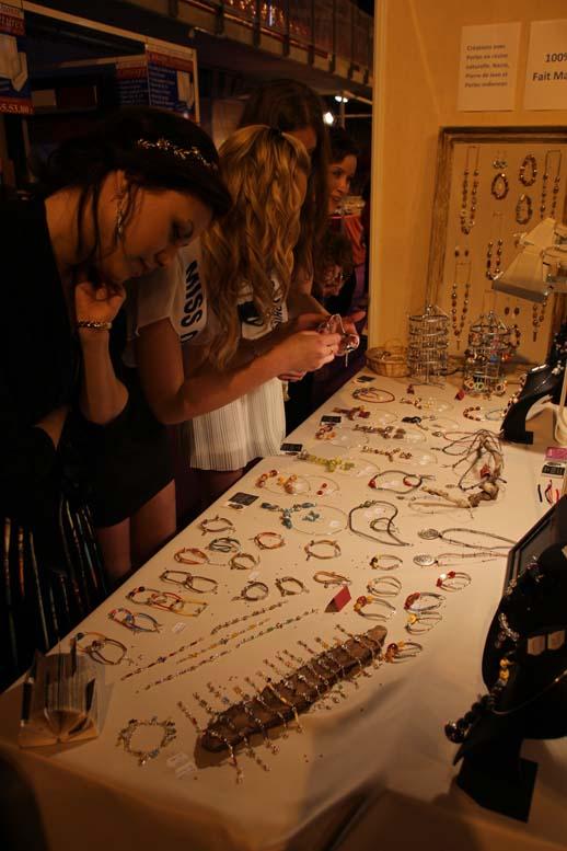 Foire de Beauvais visite de Miss Oise 2014 -24