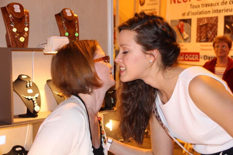Foire de Beauvais visite de Miss Oise 2014 -30