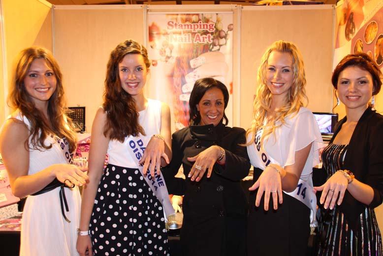 Foire de Beauvais visite de Miss Oise 2014 -33