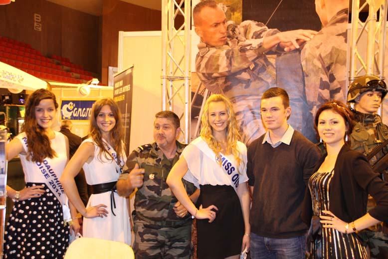 Foire de Beauvais visite de Miss Oise 2014 -37