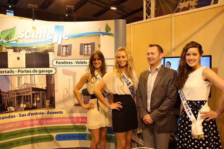 Foire de Beauvais visite de Miss Oise 2014 -40