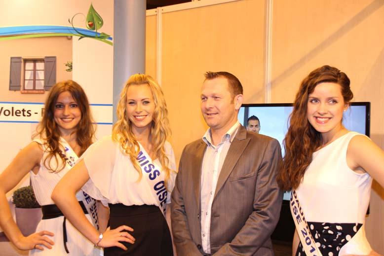Foire de Beauvais visite de Miss Oise 2014 -41