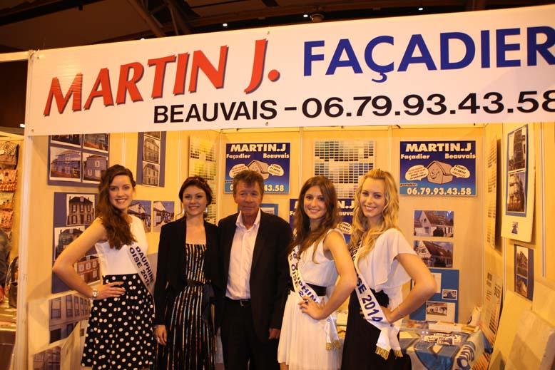 Foire de Beauvais visite de Miss Oise 2014 -8