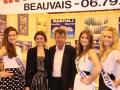 Foire de Beauvais visite de Miss Oise 2014 -9