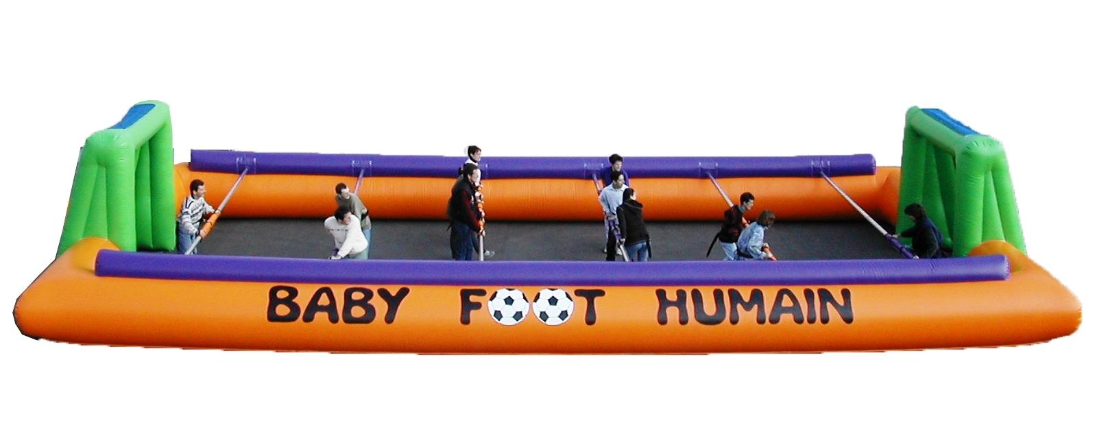 baby foot humain cergy