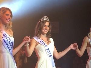 Amandine Anneet Miss Oise 2015 Foire Exposition Beauvais