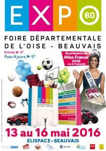 EXPO60 Foire Exposition départementale de l'Oise Beauvais