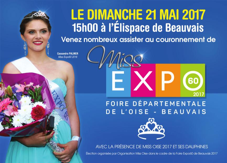 Election de Miss EXPO60 - Dimanche 21 Mai 2017