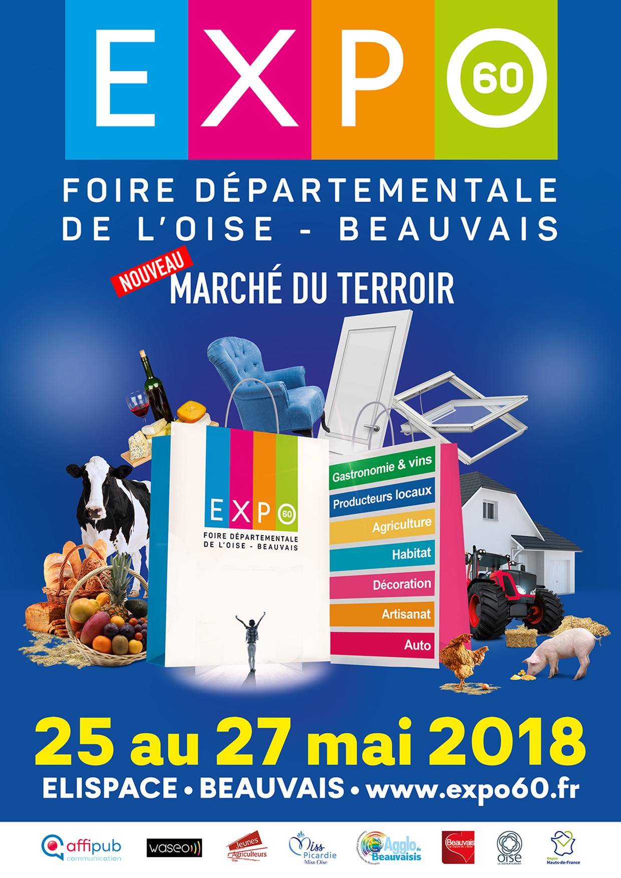 Expo60 foire exposition oise affipub communication et for Amiens foire expo