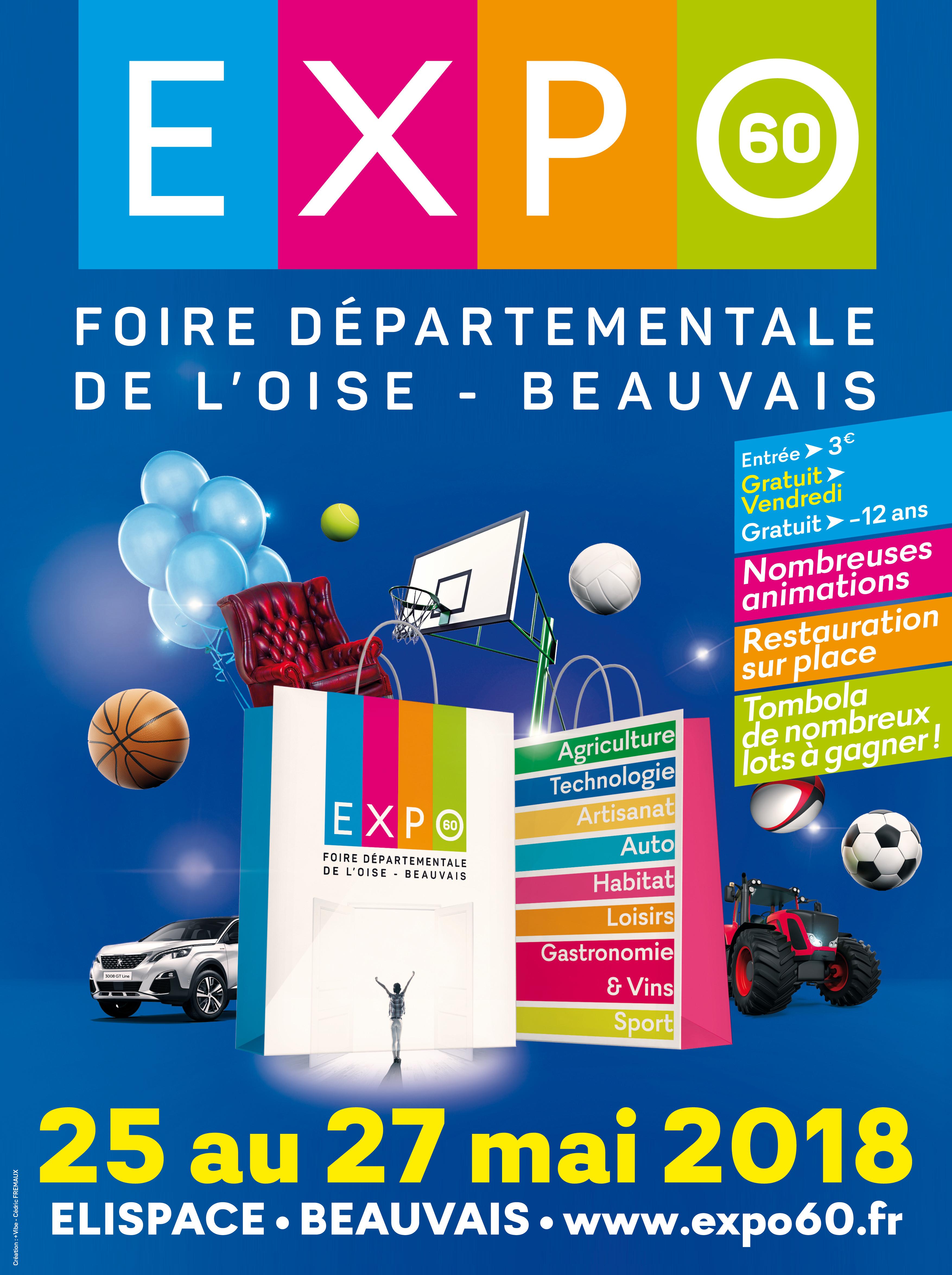 Expo 60 foire exposition oise expo 60 foire exposition d partementale de l 39 oise 2018 - Entree gratuite foire de lyon 2017 ...