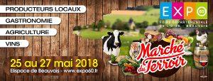 Un Marché du Terroir sur EXPO60 !