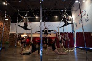 Pole Dance, Cerceau et Tissu aérien sur EXPO60
