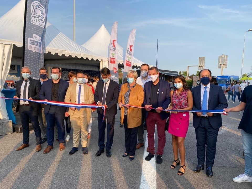 Inauguration EXPO60 à Elispace de Beauvais dans l'Oise