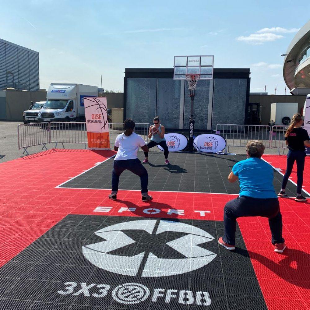 Basket EXPO60 village des sport dans l'Oise