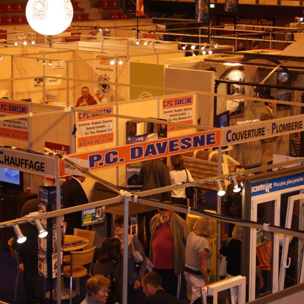 Salon de l'Habitat EXPO60 à Beauvais dans l'Oise